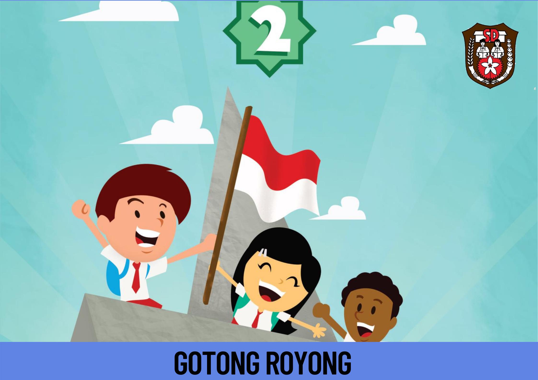 GOTONG-ROYONG Kelas 2 SD